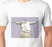 Christ The Redeemer - Violet Unisex T-Shirt