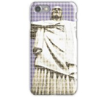 Christ The Redeemer - Violet iPhone Case/Skin
