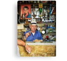 One for Elvis - Malta Street Photography Canvas Print