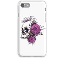 Roses of death iPhone Case/Skin