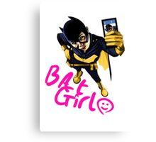 Bat-Selfie Canvas Print