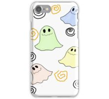Cute Ghost (White) - Halloween Time iPhone Case/Skin