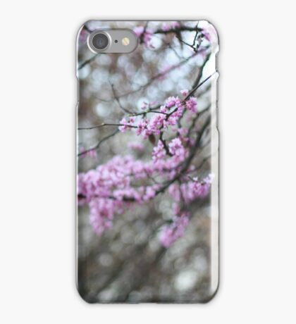 Red Bud Tree iPhone Case/Skin