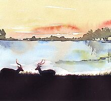 An African landscape by Maree  Clarkson