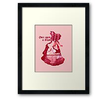 Once Upon a Dream - Pink Framed Print