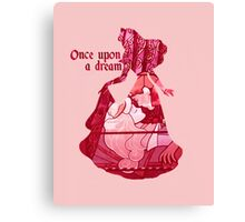 Once Upon a Dream - Pink Canvas Print