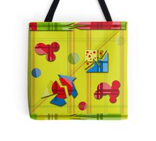 Playful day - yellow Tote Bag