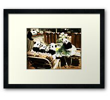 PANDAS Framed Print