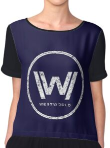 Westworld - everything can happen (rusted version) Chiffon Top