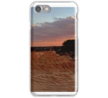 Desert landscapes iPhone Case/Skin