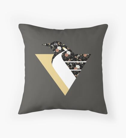 Pittsburgh #softguins Throw Pillow