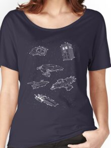 Sci fi Starry Nightsky Women's Relaxed Fit T-Shirt