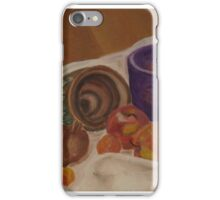 Still Life- Pottery and Fruit iPhone Case/Skin