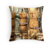 Reservoir Corks Throw Pillow