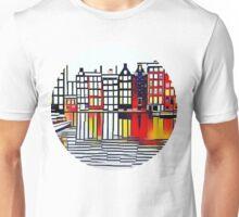 Amsterdam never gets boring Unisex T-Shirt