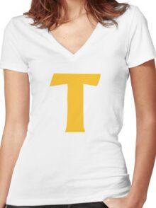 Token's shirt – South Park, Token Black Women's Fitted V-Neck T-Shirt