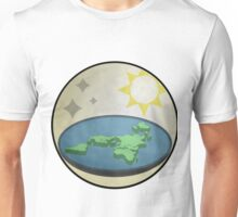 earth is NOT round Unisex T-Shirt