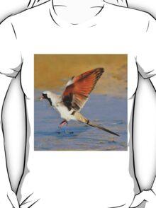 Blur of Flight - Namaqua Dove - African Wildlife T-Shirt