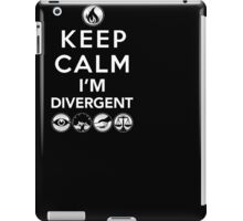 Keep Calm Faction Symbols T-Shirt: Geek Gift for Readers iPad Case/Skin