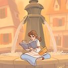 Belle reading by MargaHG