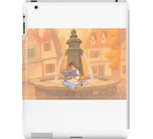 Belle reading iPad Case/Skin