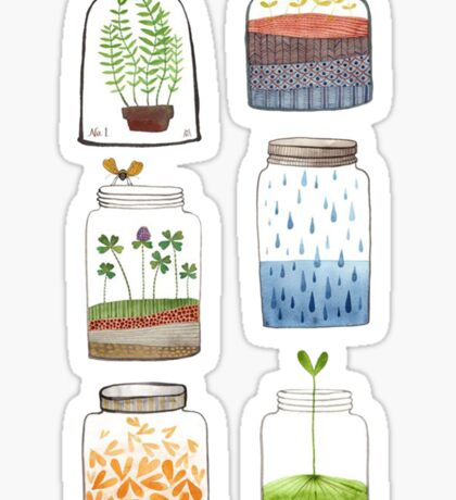 Nature In a Bottle Stickers Sticker