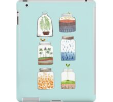 Nature In a Bottle Stickers iPad Case/Skin