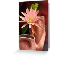 You Got Me 'Coral Mist' - ified Greeting Card