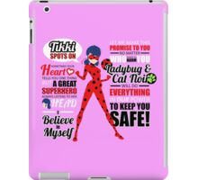 Ladybug Quotes iPad Case/Skin