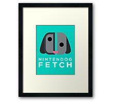 Nintendog Fetch (Nintendo Switch) Framed Print