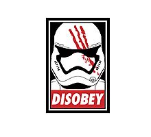 Disobey SW! Photographic Print