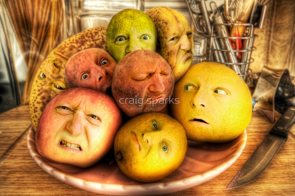 The madness of fruit by craig sparks