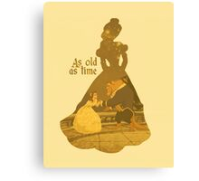Belle - Yellow Canvas Print