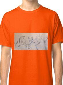 Robot uprising  Classic T-Shirt