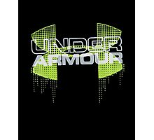 Under Armour Boys' Big Logo Iteration Tee Photographic Print
