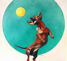 The Ball Boy by debidavisart
