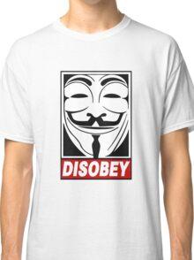 V - Disobey  Classic T-Shirt