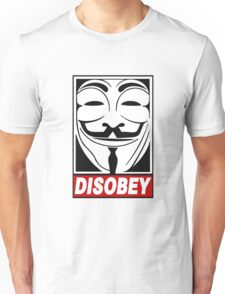 V - Disobey  Unisex T-Shirt