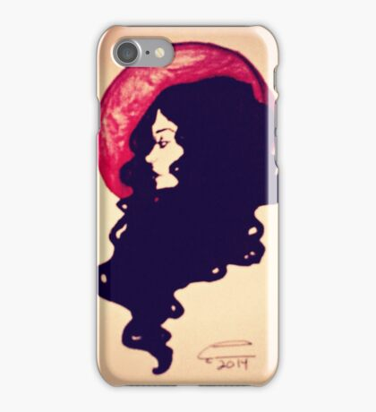 The Girl With the Hair iPhone Case/Skin