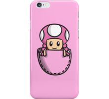 Pocket Toadette iPhone Case/Skin
