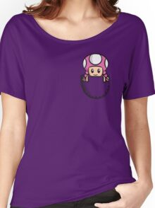 Pocket Toadette Women's Relaxed Fit T-Shirt