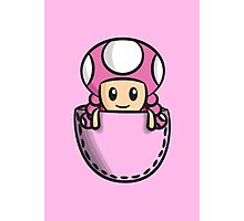 Pocket Toadette Photographic Print