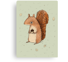 Sarah the Squirrel Canvas Print