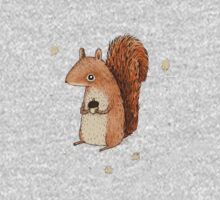 Sarah the Squirrel One Piece - Long Sleeve