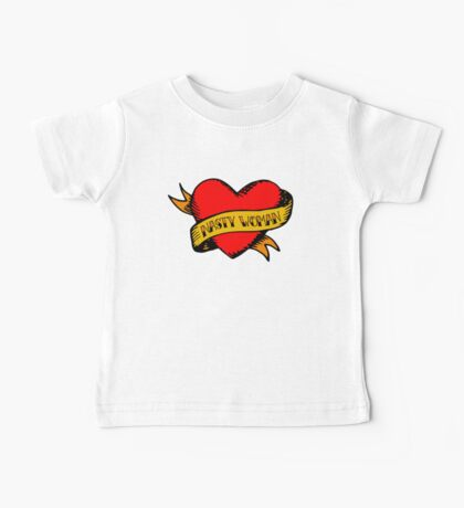 Hillary Clinton Nasty Woman Tattoo Baby Tee