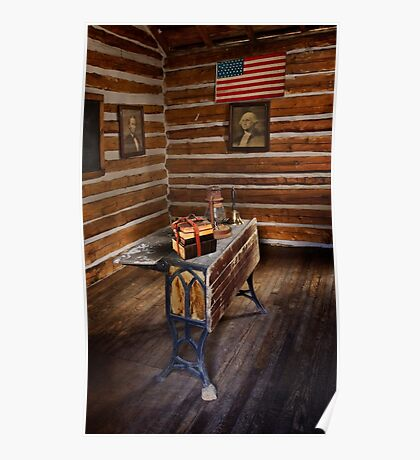 First Schoolhouse in Keystone, South Dakota Poster
