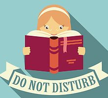 Reading - Do Not Disturb by BlueLela