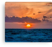 Dutch Sunset Canvas Print