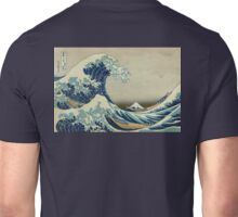 Hokusai, Great Wave off Kanagawa, Thirty-six Views of Mount Fuji, no. 21. Japan, Japanese, Wood block, print Unisex T-Shirt