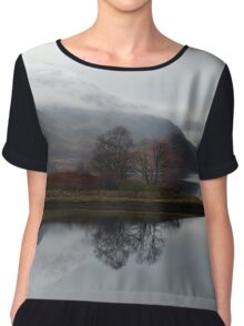Reflections on Loch Leven Chiffon Top